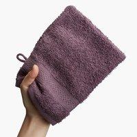 Luva de banho UPPSALA 14x20 roxo escuro