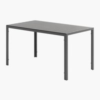 Table JERSORE 80x140 gris