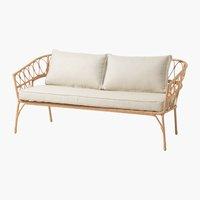 Lounge-Sofa JENNUM 2,5 Pers. natur