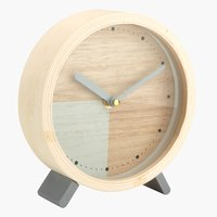 Reloj SIGFRED Ø15cm natural