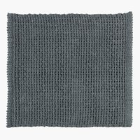 Bath mat NOLVIK 45x50 grey