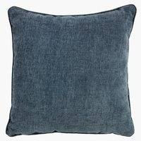 Cushion HORNFIOL chenille 45x45 blue