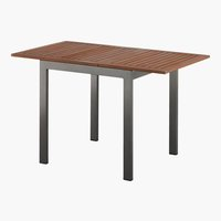 Table YTTRUP l70xL75/126 bois dur
