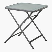 Table bistrot MODENA 70x70 gris