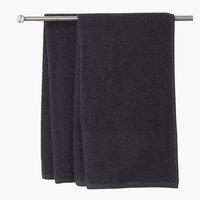 Πετσέτα μπάνιου GISTAD 65x130 ασφάλτου