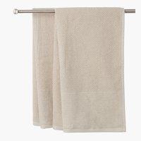 Πετσέτα μπάνιου GISTAD 65x130 μπεζ