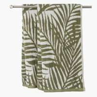 Bath towel HORDA 70x140 green