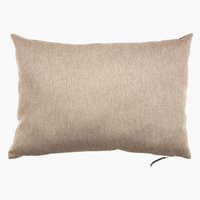 Cushion LILJE velour 35x50 beige