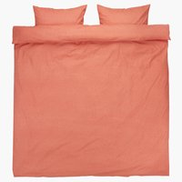 Duvet cover MARY DBL coral