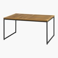 Lounge table UGILT W60xL90 hardwood