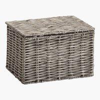 Aufbewahrungsbox HANNA 16x20x13cm grau