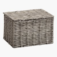 Caja HANNA A16xL20xA13cm gris