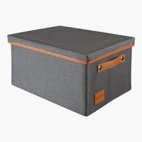 Aufbewahrungsbox LARA 26x36x20 grau