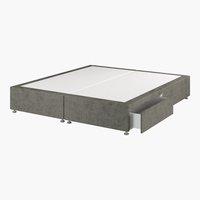 Divan 150x200 GOLD D10 2 drw Grey-50