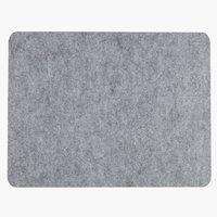 Set de table BLANKSTARR 33x43 gris clair