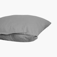Funda almohada satén 45x110 gris