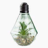 Plante artificielle MICHAEL a/LED ass.