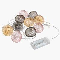 Světelný řetěz GODVIN D165 cm 10 LED