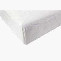 Lenzuolo impermeabile160x190x20cm bianco