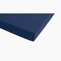 Lenzuolo in Jersey 180x200x30cm blu