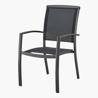 Silla apilable ATLANTA gris