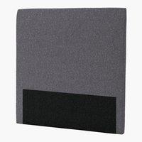 Hoofdbord 120x125 H30 rond grijs-26