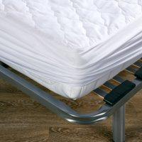 Protector colchón 90x200x20 cm blanco