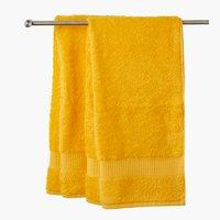 Toalha banho KRONBORG DE LUXE amarelo