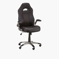 Chaise gaming HYRUP noir/rouge