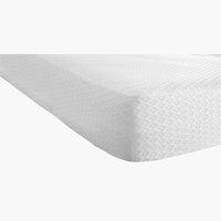 Protector colchón 150x200x20cm blanco