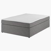 Kontin.posteľ 140 PLUS C20 Sivá-33