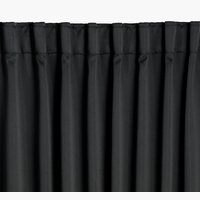 Dimout curtain AMUNGEN 1x140x175 black