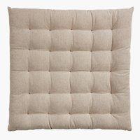 Chair cushion ELVESNELLE 40x40x4 beige