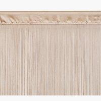 Κουρτίνα μ/κρόσια NISSER 90x300 μπεζ