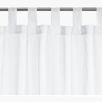 Gardin ALAJAURE 1x110x175 hvit
