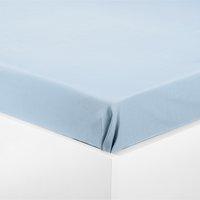 Drap 180x290cm bleu clair