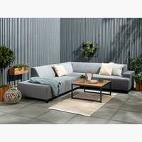 Set lounge GAMST+UHRE 6 pers. grigio ch.