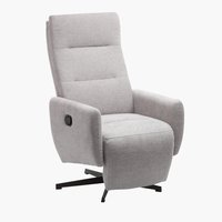 Fauteuil inclinable BREMDAL gris clair