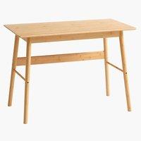 Radni stol VANDSTED 55x105 bambus