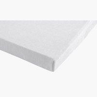 Lenzuolo Jersey 140/160x200x32cm bianco