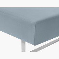 Lenzuolo Jersey 140/160x200x32cm blu pol