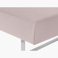 Lenzuolo Jersey 180x200x32cm rosa cipria