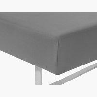 Lenzuolo Jersey 90x200x32cm grigio antr.