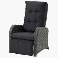 Chaise réglable STORD gris