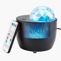 Galaxie-Projektor KARLO m/RGB LED