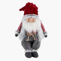 Санта HOD в.52см сірий