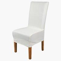 Housse de chaise TOM 40x45x85 crème