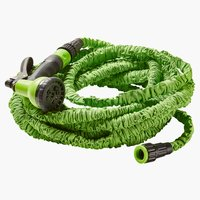 Gartenschlauch FLEXIBEL 750-2250 cm grün