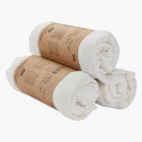 Jersey sheet DBL/KNG white