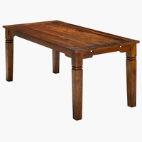 Dining table FREDERICIA 90x178 antique